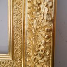 Vergoldung eines Rahmens im Detail, Margret Weirauch - Ihre Raumentfaltung