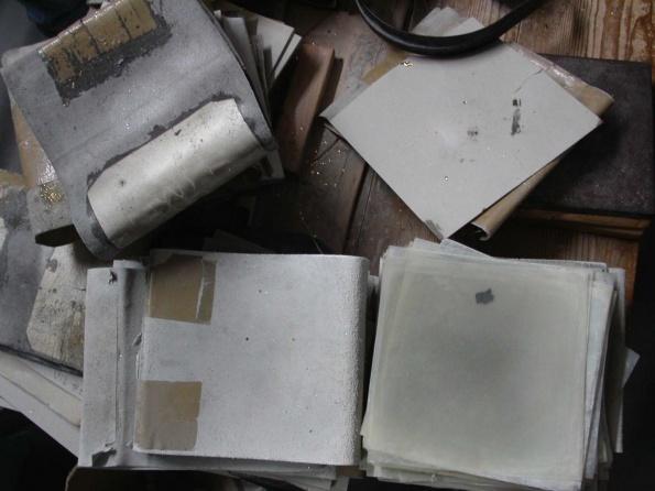 Pergamentpapier in der Blattgoldherstellung
